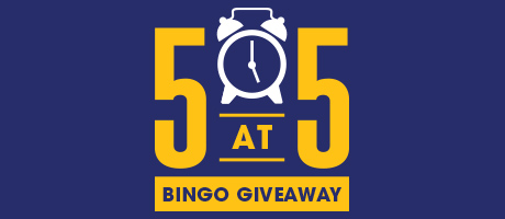 5 at 5 Bingo Giveaway
