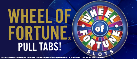 Wheel of Fortune Pull Tabs