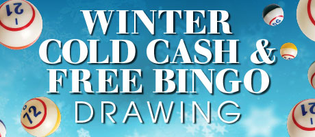 Winter Cold Cash Bingo
