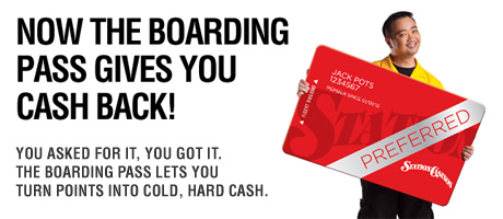 Get Cash Back with Your Boarding Pass Rewards Card