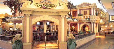 Entry to Rosalita's Cantina