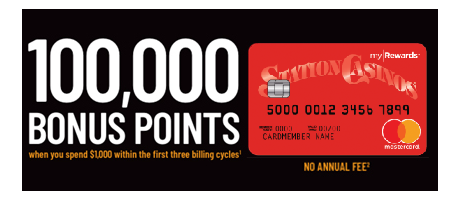 Station Casinos Rewards Mastercard