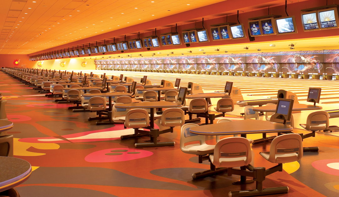 Strike Zone Bowling Alley at Sunset Station