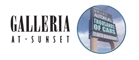 Galleria Mall at Sunset logo